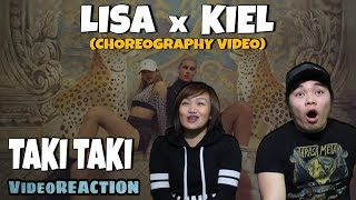 LISA X KIEL TUTIN CHOREOGRAPHY VIDEO | REACTION