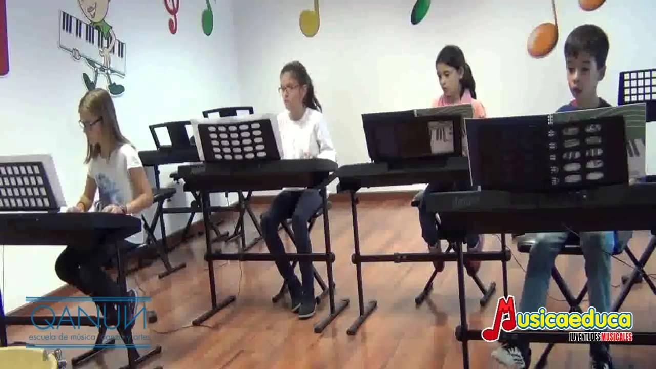 Vuela mi nave - Grupo de alumnos de Mi Teclado 3 - QANUN Badajoz