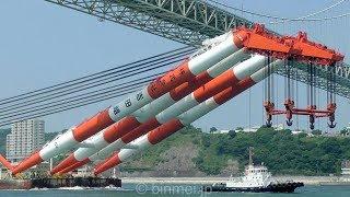 起重機船 吉田組 第五十吉田号 関門東航 2018 / YOSHIDA-GO No.50 - YOSHIDA-GUMI Inc crane barge
