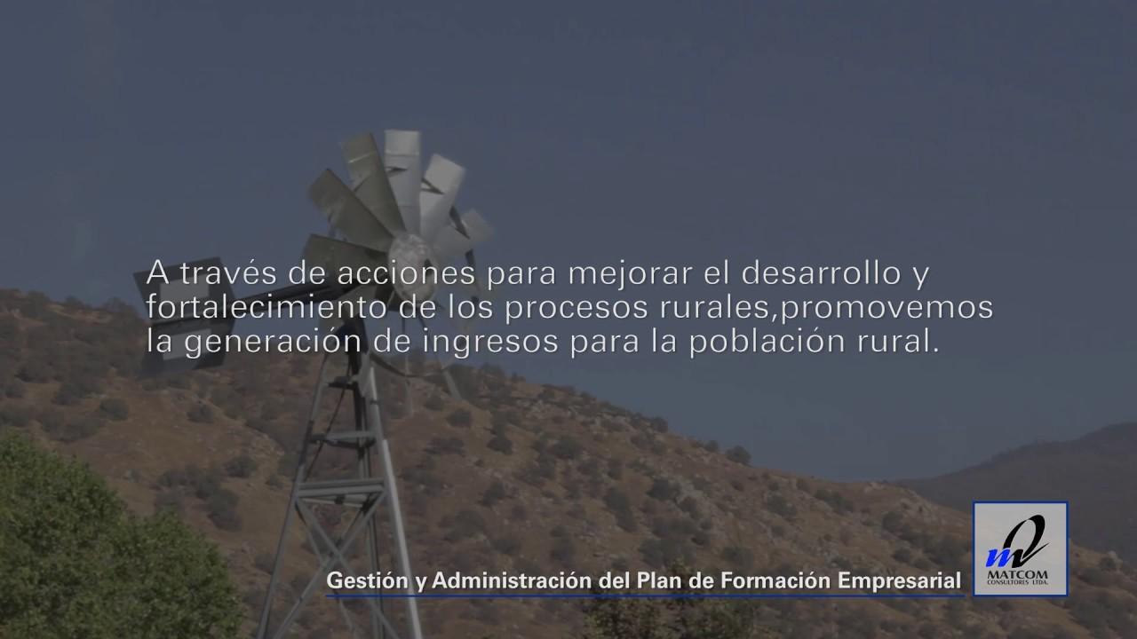 Desarrollo Rural programas de Formación Empresarial