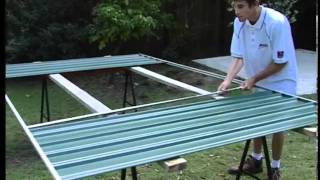 Cheap Sheds - Garden Sheds - Absco Front Panel Assembly