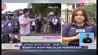 Aktivis Robertus Robert Jalani Pemeriksaan Terkait Kasus Penghinaan TNI - INews Siang 07/03