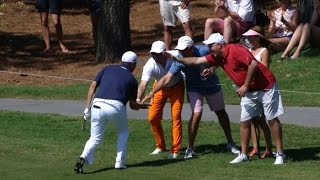 Ryan Palmer's crowd-pleasing eagle hole out at THE PLAYERS by PGA TOUR