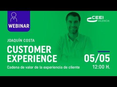 Webinar: Cadena de valor de la experiencia de cliente[;;;][;;;]