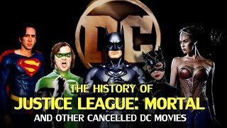The History of Justice League Mortal and other cancelled DC movies