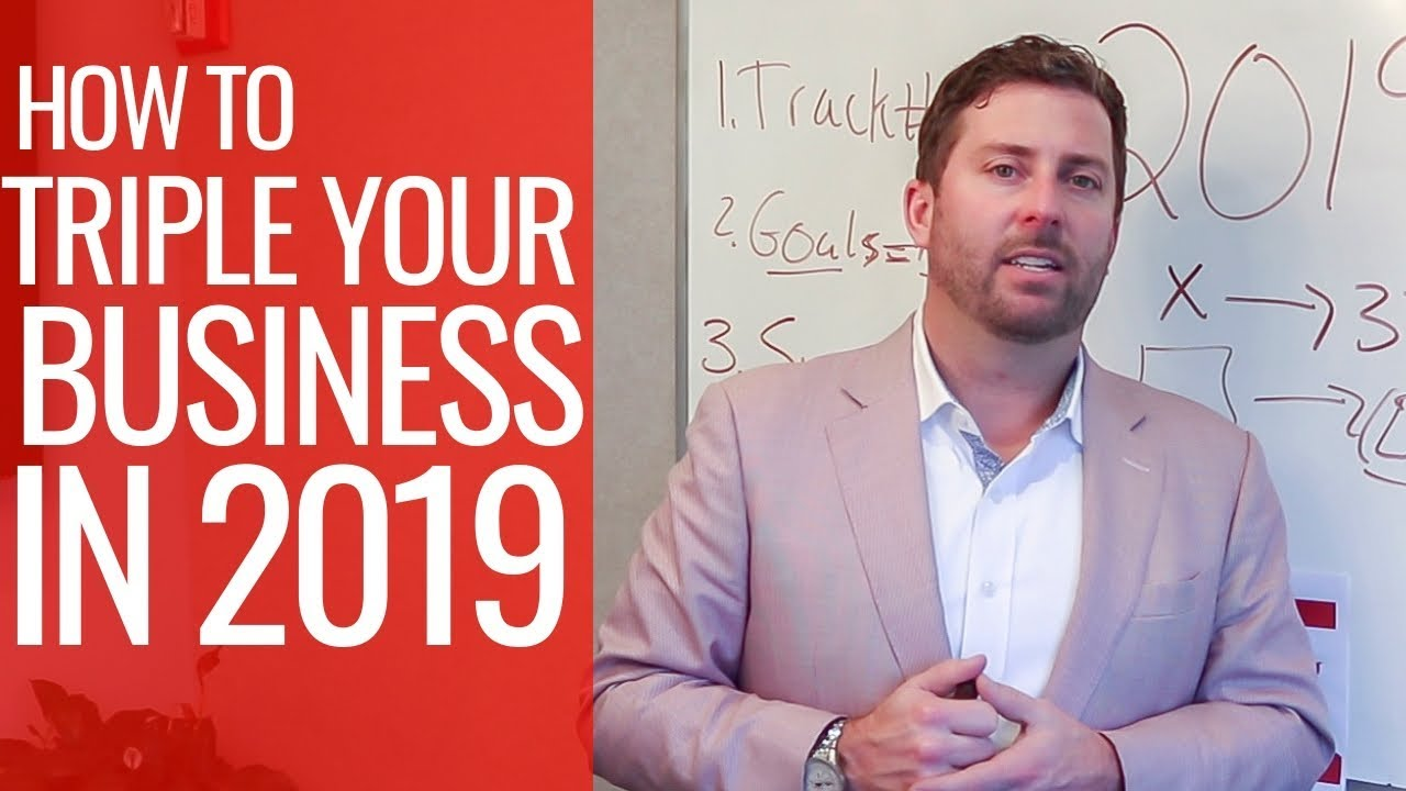 Let's Triple Your Real Estate Business in 2019