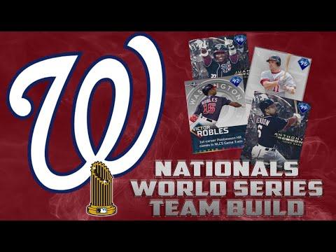 NATIONALS WORLD SERIES TEAM BUILD!! MLB The Show 19 Diamond Dynasty