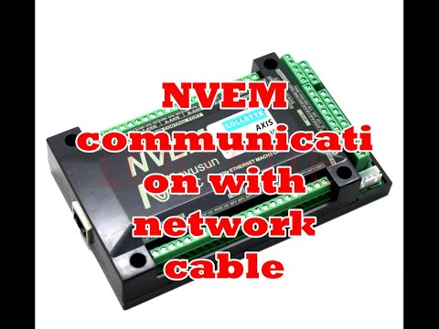 nvum cnc controller with handwheel work - смотреть онлайн на