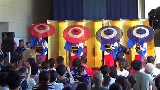 徳島阿波踊り20180814華麗なる技の競演3藍吹雪徳島城博物館