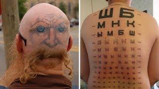 60 самых смешных и нелепых татуировок в мире