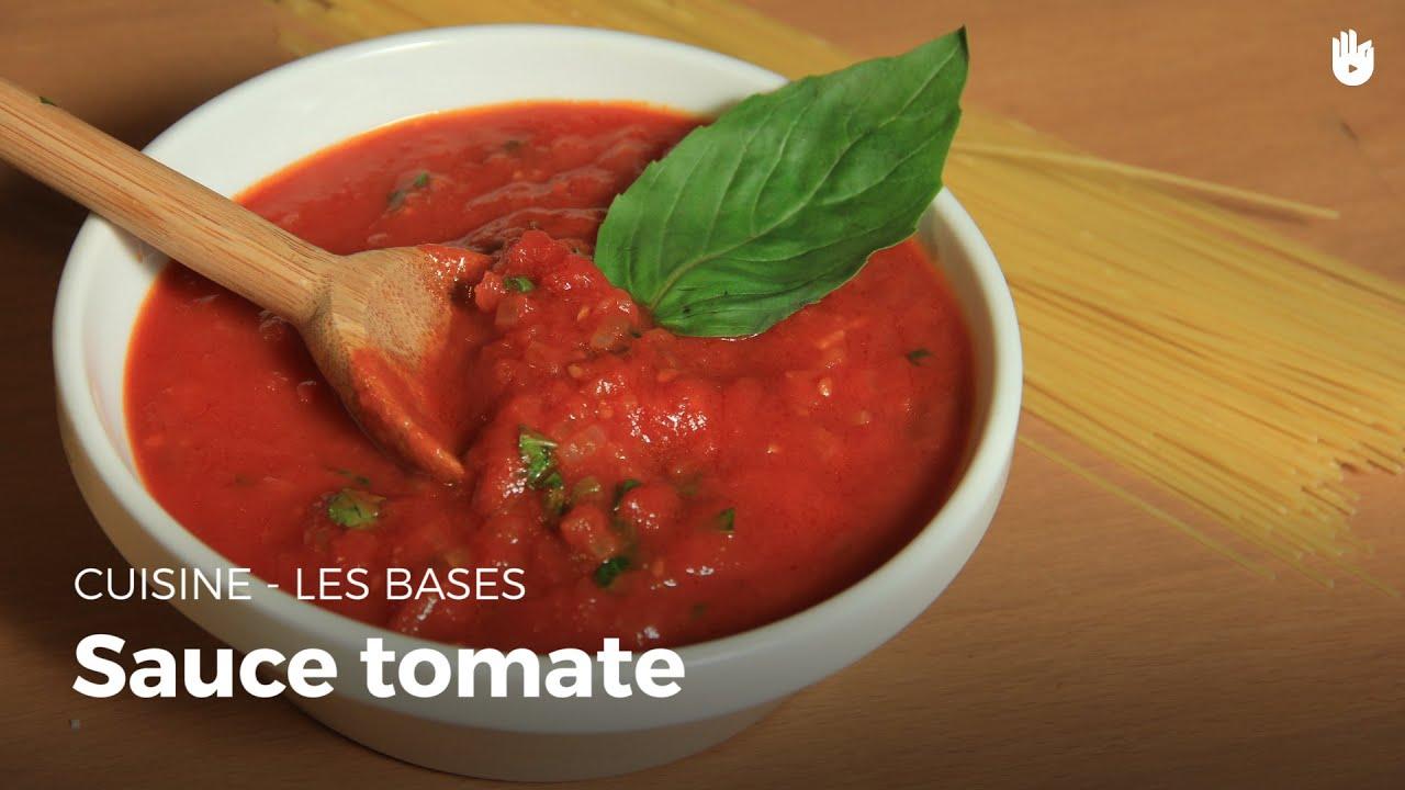 sauce tomate apprendre cuisiner sikana. Black Bedroom Furniture Sets. Home Design Ideas
