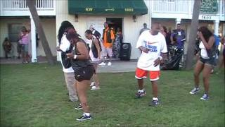 Big Mucci * Boodie Bounce LineDance with Mike Lawry @ Black Bike Week 2011