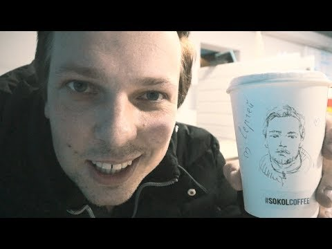 Coffee With Your Own Portrait On The Cup.