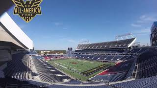 Vrbo Citrus Bowl to Under Armour All America Game - Camping World Stadium Timelapse