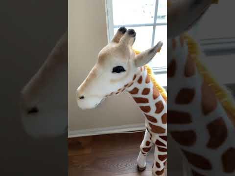 "Steiff Knopf im Ohr Giraffe Button in Ear Collectible Stuffed Animal Toy Germany 42"" 109cm Ebay"