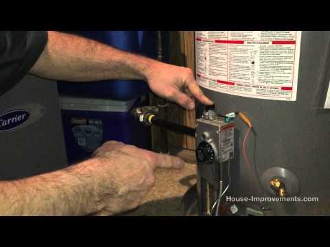 Light A Gas Water Heater Pilot Light In A Few Simple Steps