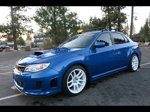 INSTALLING NEW WHEELS ON THE WRX!