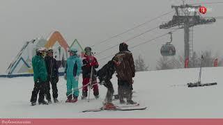 "100 секунд на ""Солнце"". Кубок Сахалина по горнолыжному спорту. Второй этап"