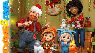 🎄Christmas Songs | Nursery Rhymes | Baby Songs by Dave and Ava 🎄
