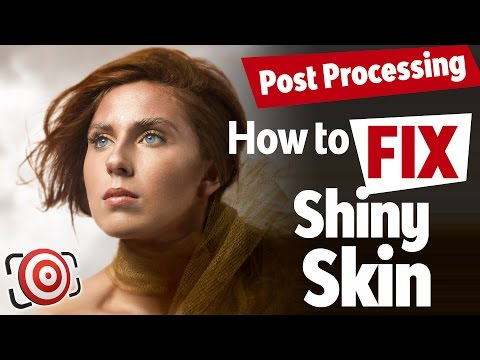 Quickly Fix Shiny Skin In Your Photos Using Photoshop Or Lightroom