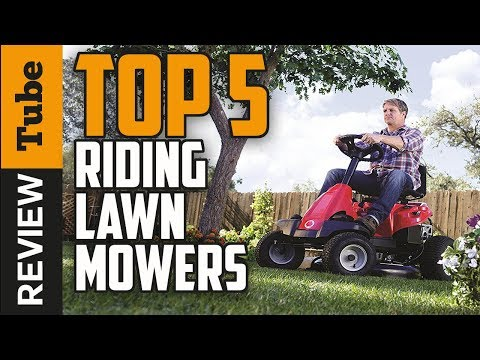 ✅Mower: The best Riding Lawn Mower 2018 (Buying Guide)