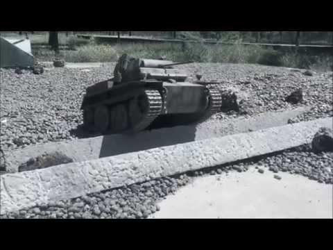1/6 Scale Panzer II Tank