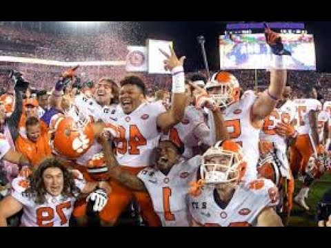 Clemson Tigers Pump-Up 2017-18 ''Dreams''