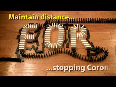 Maintain Physical Distance.. Stop Spreading Of Corona