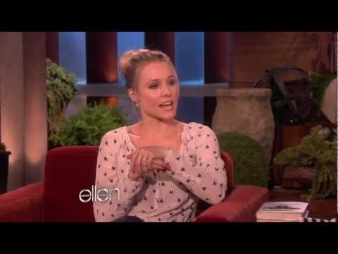 Kristen Bell miluje lenochody
