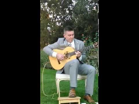 """Michael Sean Miller performing """"Life is a Gift"""" Rumba LIVE at Wilson Vineyards"""