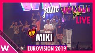 "Miki ""La Venda"" Live At The Wiwi Jam 2019 | Eurovision"