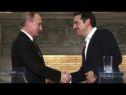 Α. Τσίπρας: Η Ελλάδα «γέφυρα φιλίας» μεταξύ ΕΕ – Ρωσίας