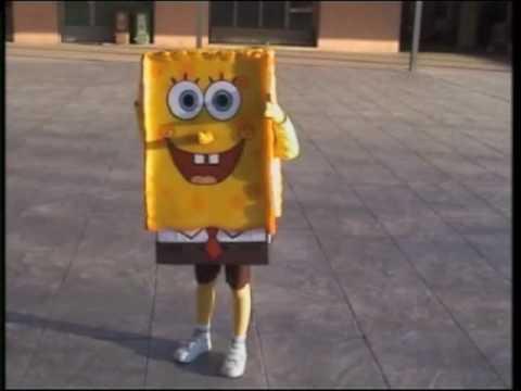 Bob esponja disfraz de Iker