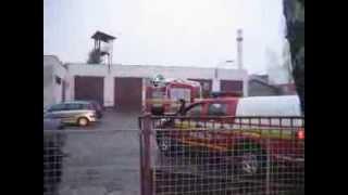 preview picture of video 'Hasiči Senica - Príjazd Iveco Multistar a Nissan Navara z výjazdu'
