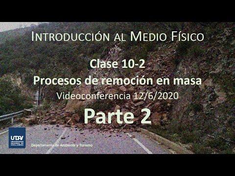 Clase 10-2 - Procesos de remoción en masa (Parte 2)
