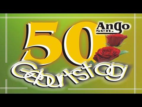 ♫ Zum 50. Geburtstag ♫ - Kurze Geburtstagswünsche zum Verschicken - Happy Birthday
