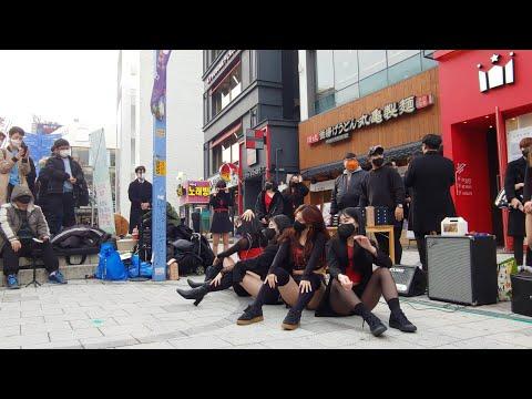 에이블크루 Able Crew - 마마무 딩가딩가 @홍대버스킹공연 (20.11.21)