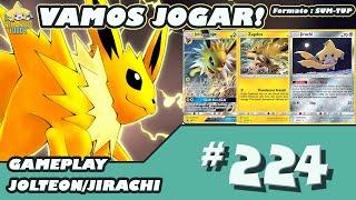 Vamos Jogar! Pokemon TCG Online #224 - Jolteon/Jirachi/Zapdos Deck