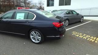 BMW Self Parking Assistant   2016 BMW 7 Series