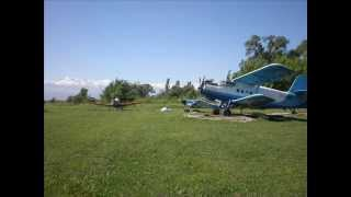 preview picture of video 'Cessna188. Summer of flying,  the winter recreation.'