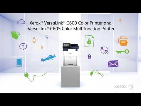 Xerox® VersaLink C500 Series & C600 Series Color Printer/MFP