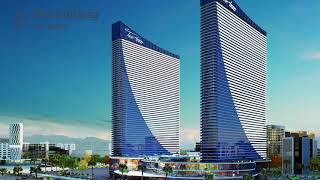 Продаются апартаменты в Orbi Twin Tower. 30 этаж, 1-я башня, 29, 30, и 33 кв.м.Батуми.