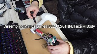 Fixing Philips Lumea Precision Plus SC2006/11 IPL Home Hair Removal System part 1 (dissembling)