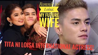 ANG LIHIM NG TITA NI LOISA | RONNIE 'MY FUTURE WIFE' NA ANG TAWAG