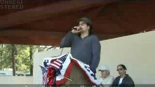 Poker Faces - Paul Topete Speaking @ Anti-Illegal Immigration Rally In LakewoodNJ