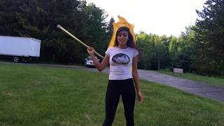 Color Guard: Basic Flag Moves