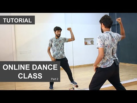 Online Dance Class | Basic Steps Routine | 4*8 Combo | Deepak Tulsyan | Hindi