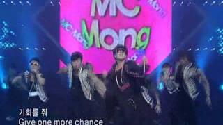 MC Mong-Crazy (엠시몽-미치겠어) @SBS Inkigayo 인기가요 20080713