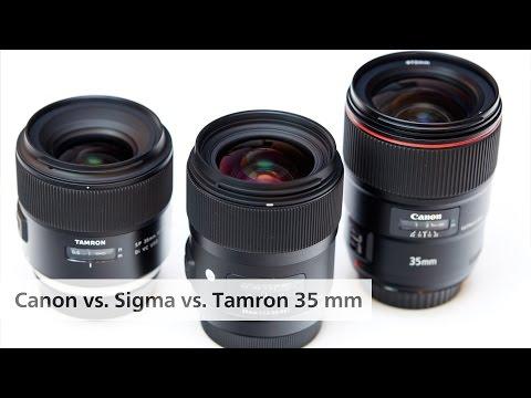 Der 35-mm-Vergleich: Canon f/1.4L II vs. Sigma f/1.4 Art vs. Tamron f/1.8 VC [Deutsch]