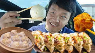 Trying EVERY DUMPLING RESTAURANT In Greater Seattle Part 1 | Did I Find The BEST DUMPLING?!